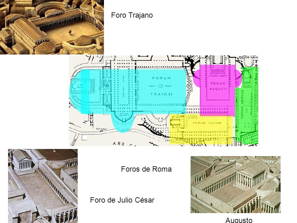 Foro Trajano Foros de Roma Foro de Julio César Augusto