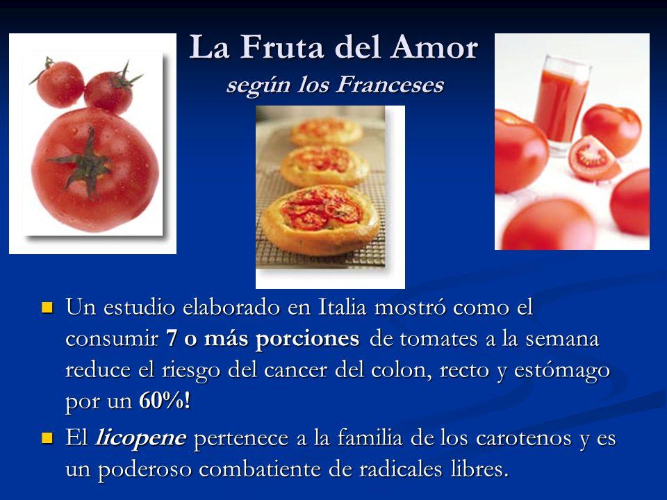 La Fruta del Amor según los Franceses