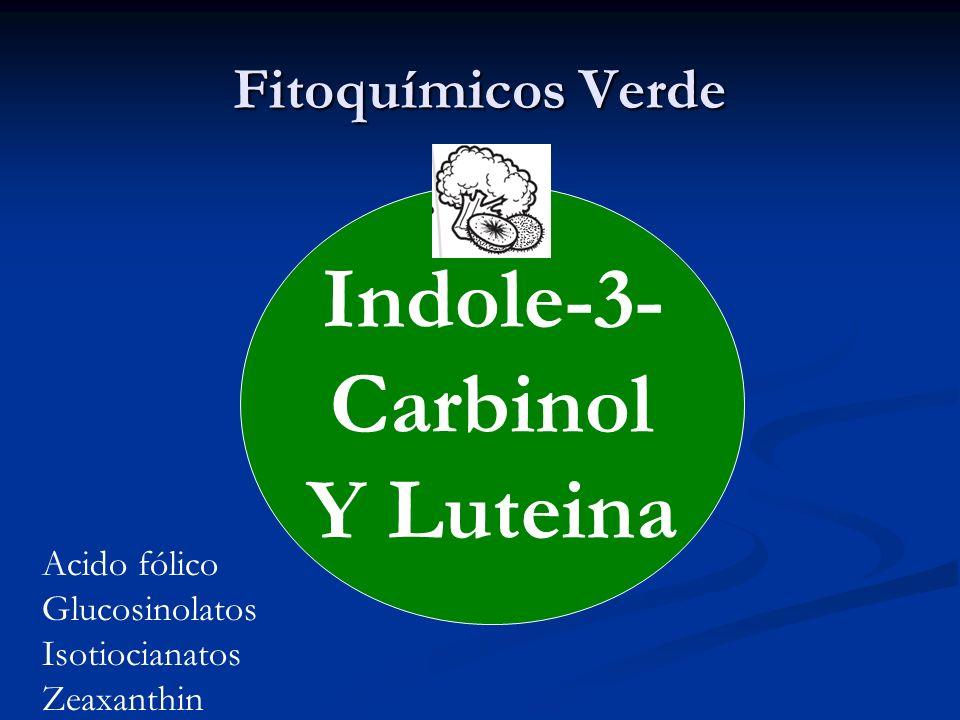 Indole-3- Carbinol Y Luteina