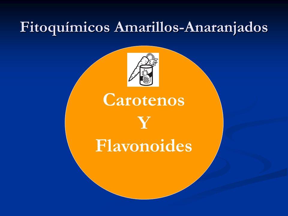 Fitoquímicos Amarillos-Anaranjados