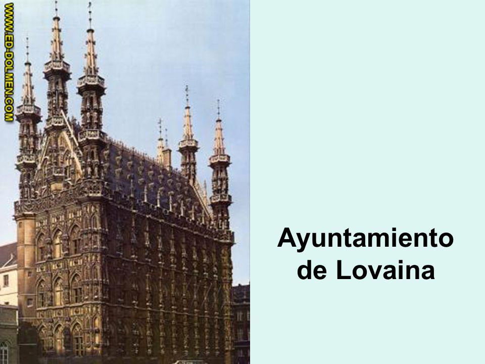 Ayuntamiento de Lovaina