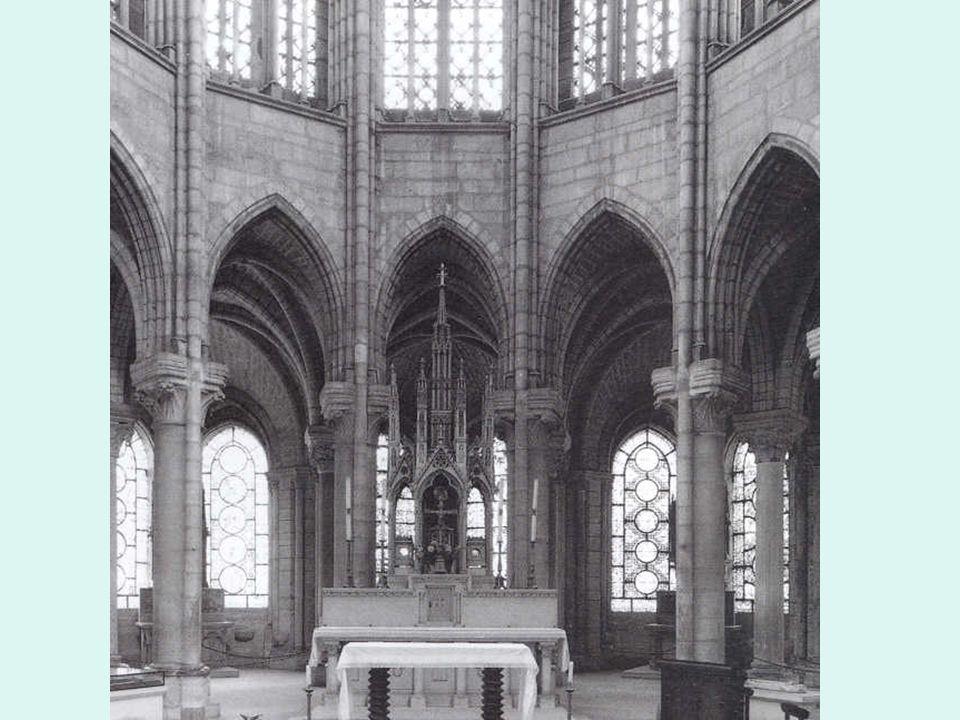 Francia. Primer gótico. Saint Denis