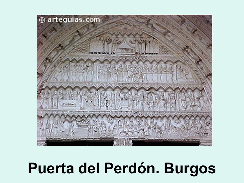 Puerta del Perdón. Burgos