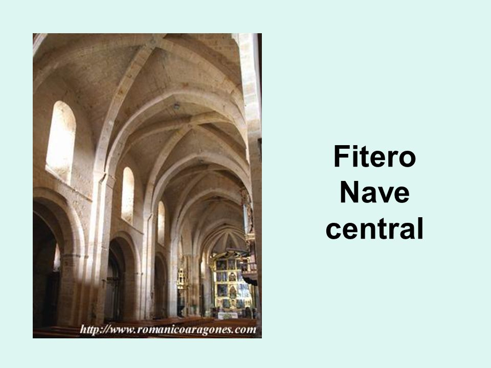Fitero Nave central