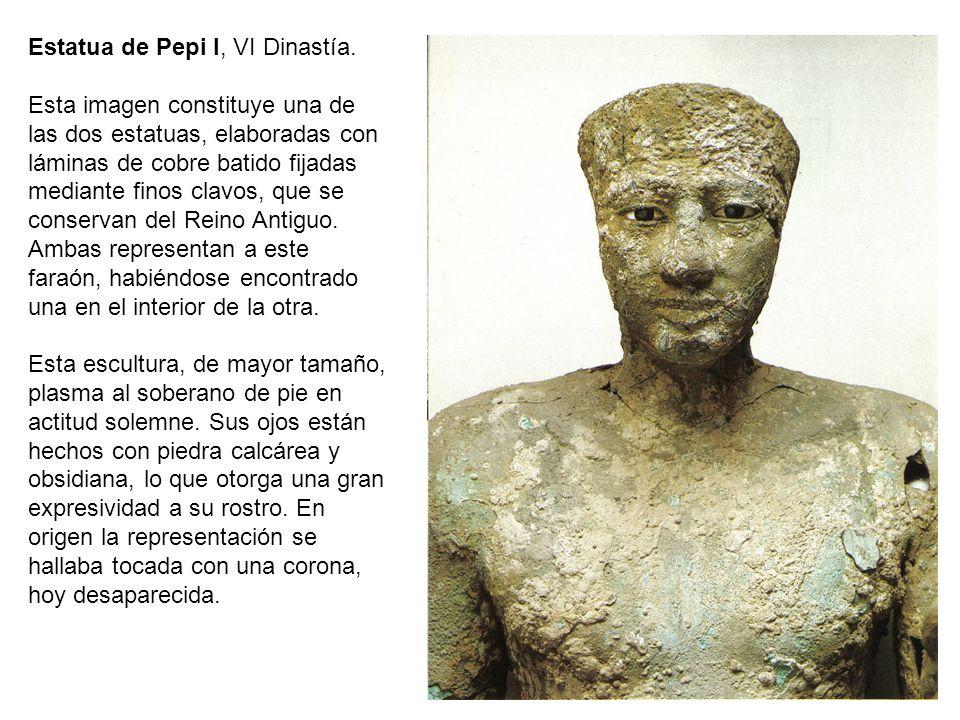 Estatua de Pepi I, VI Dinastía.