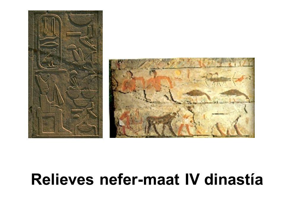 Relieves nefer-maat IV dinastía