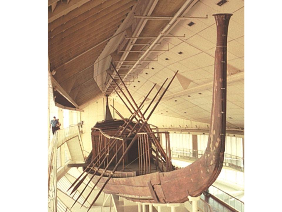 Barca funeraria de Keops