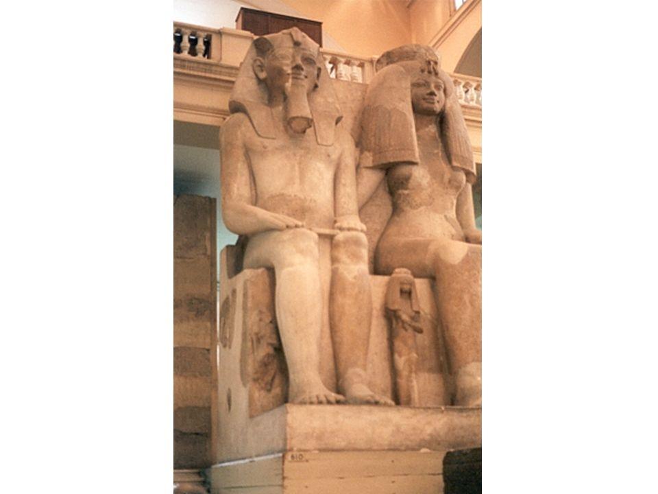 Amenofis III y Tiye