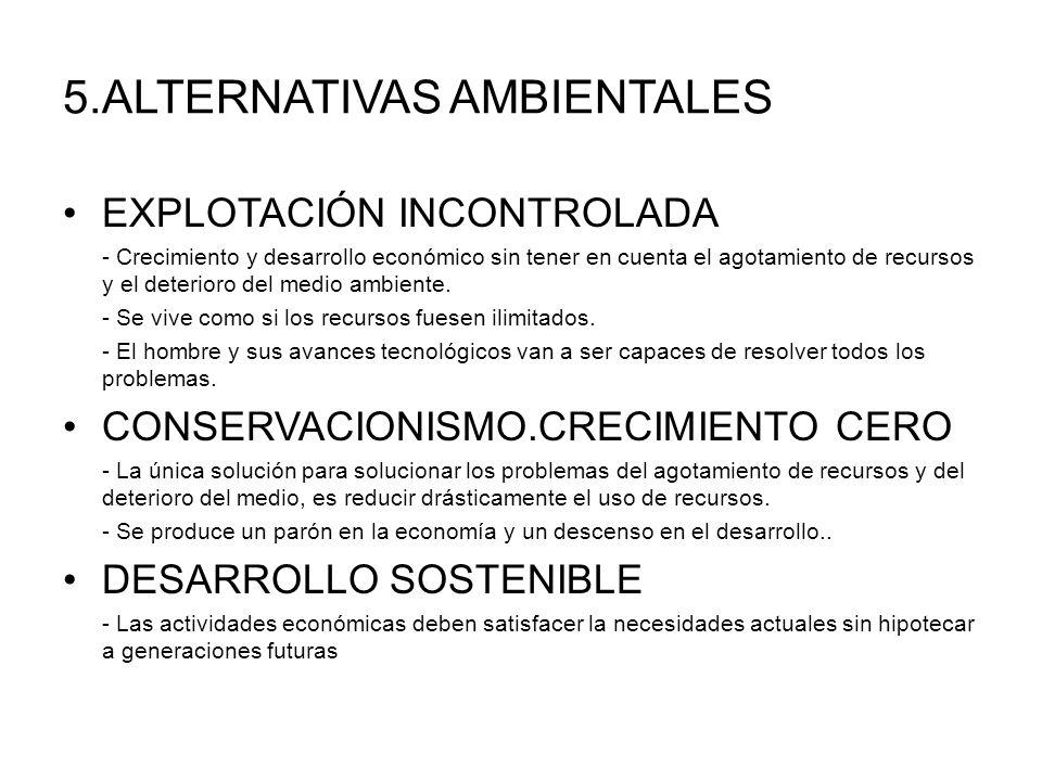 5.ALTERNATIVAS AMBIENTALES
