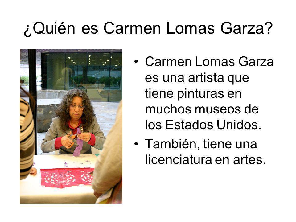 ¿Quién es Carmen Lomas Garza