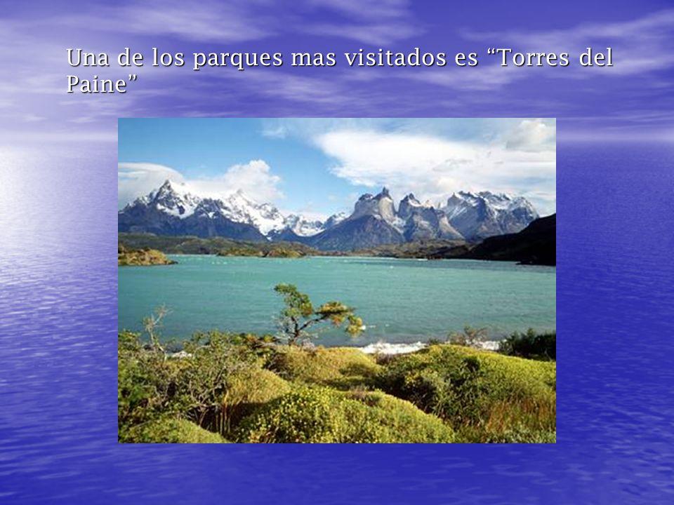Una de los parques mas visitados es Torres del Paine
