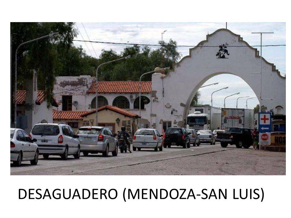 DESAGUADERO (MENDOZA-SAN LUIS)