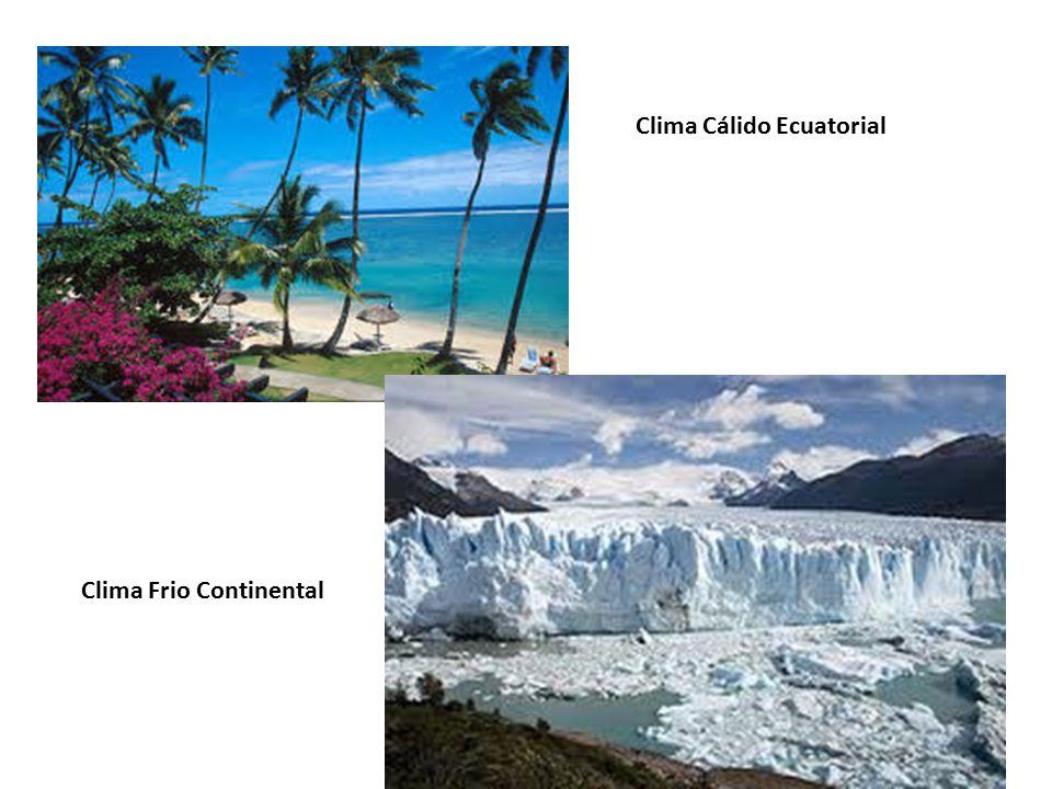 Clima Cálido Ecuatorial