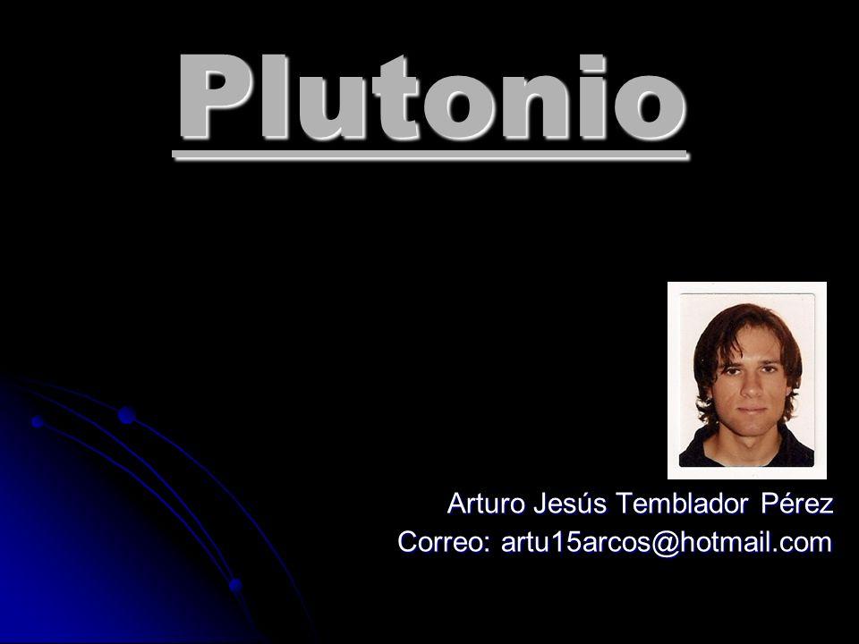 Arturo Jesús Temblador Pérez Correo: artu15arcos@hotmail.com