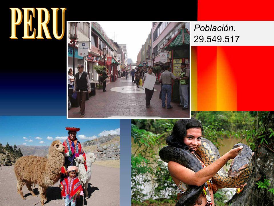 PERU Población. 29.549.517