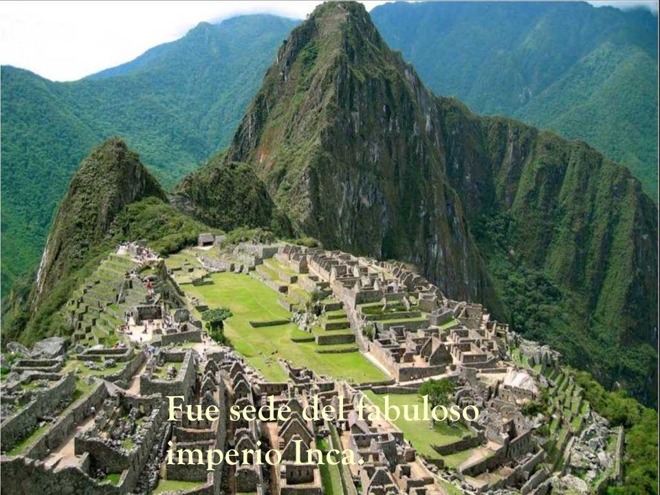 Fue sede del fabuloso imperio Inca.