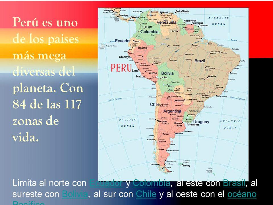 Perú es uno de los paises más mega diversas del planeta