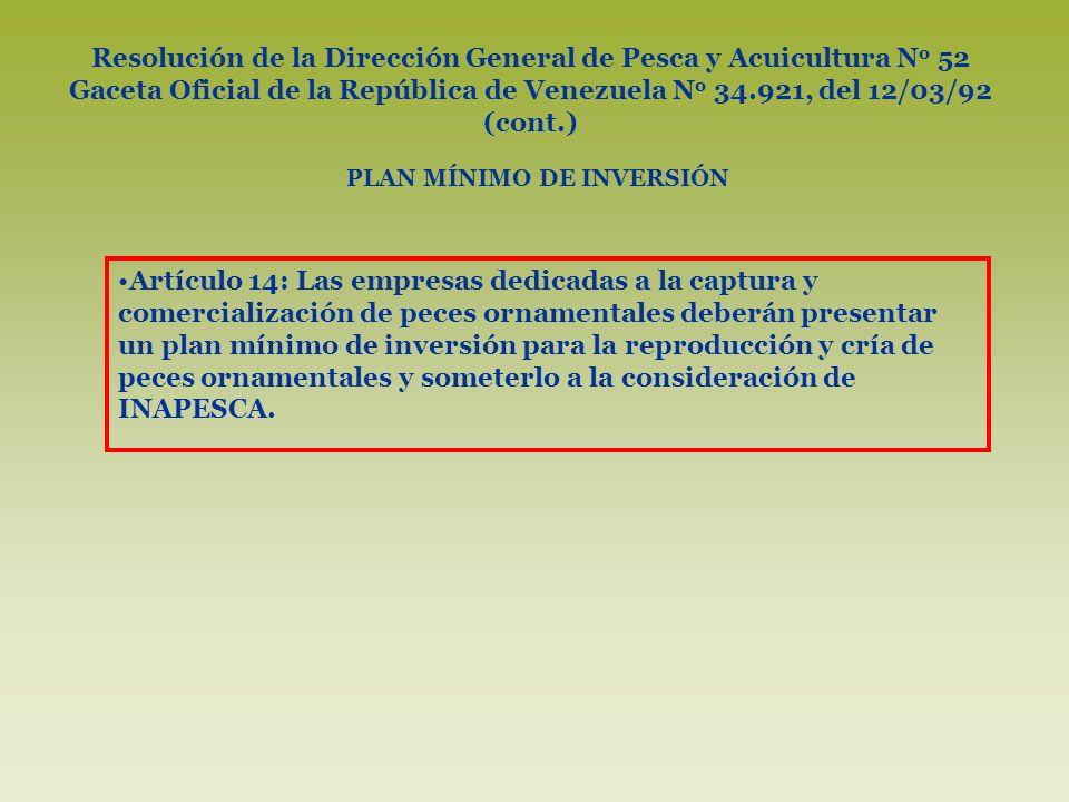 Rep blica bolivariana de venezuela ppt descargar for Cria de peces ornamentales