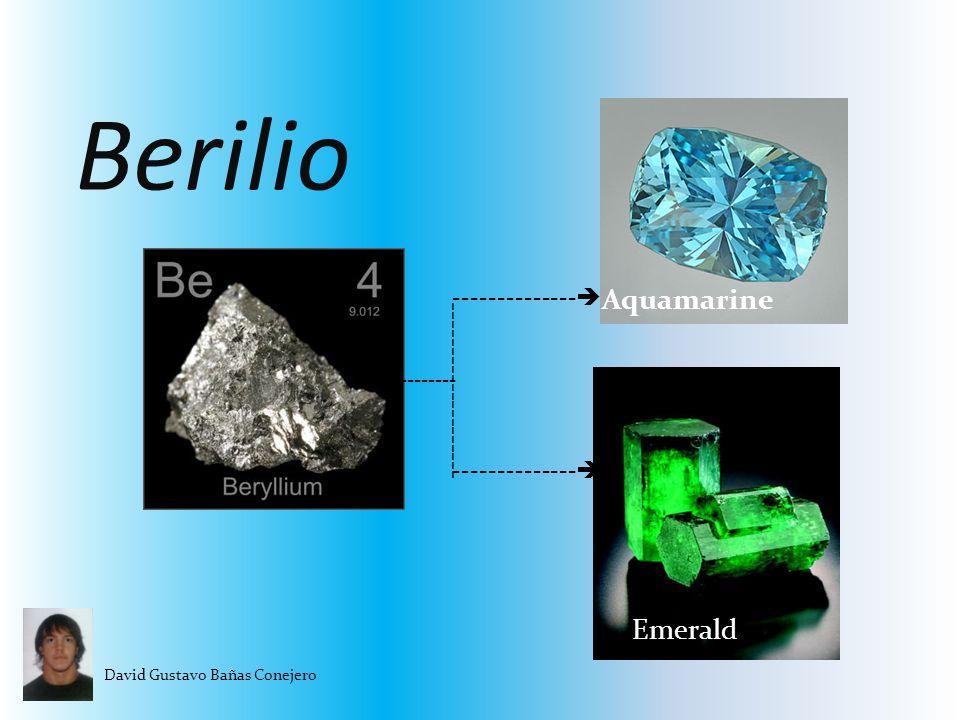 Berilio Aquamarine Emerald -------------- --------------------