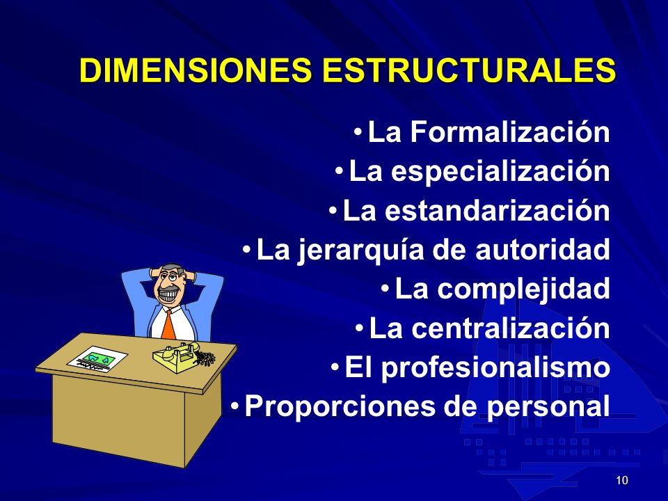 DIMENSIONES ESTRUCTURALES