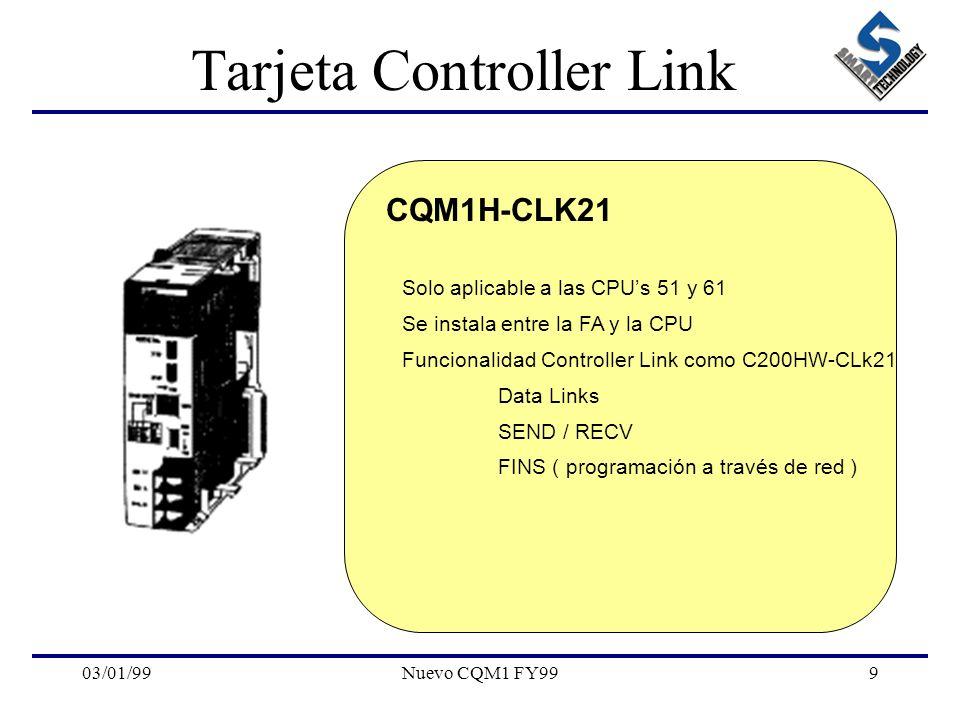 Tarjeta Controller Link