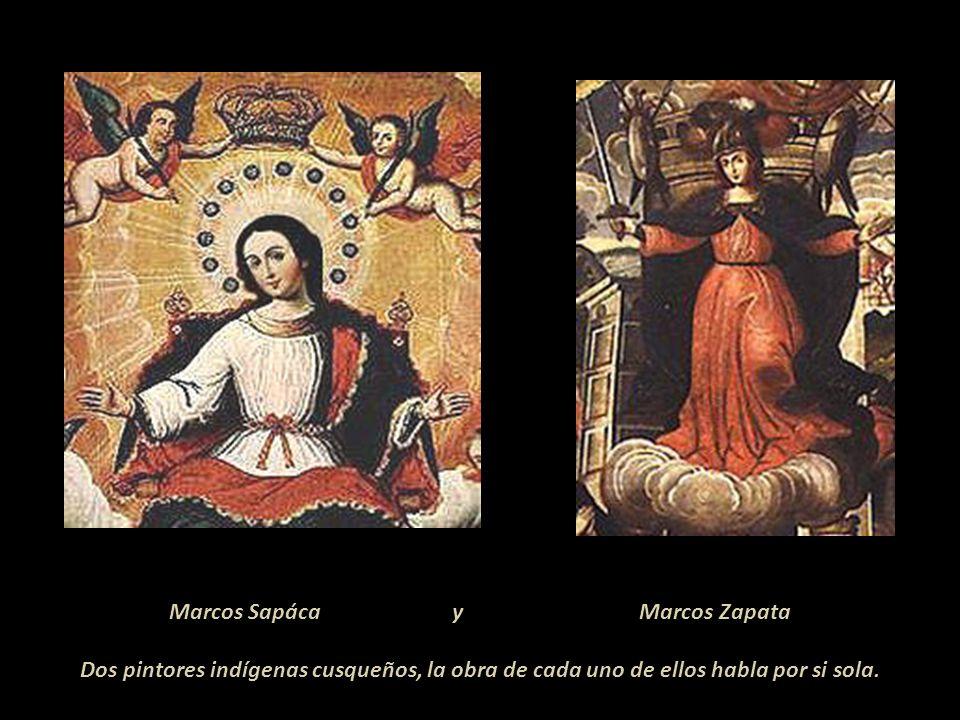 Marcos Sapáca y Marcos Zapata