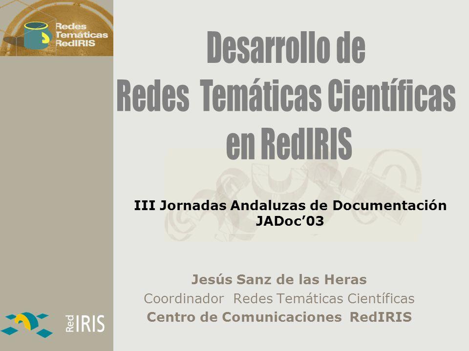 III Jornadas Andaluzas de Documentación JADoc'03