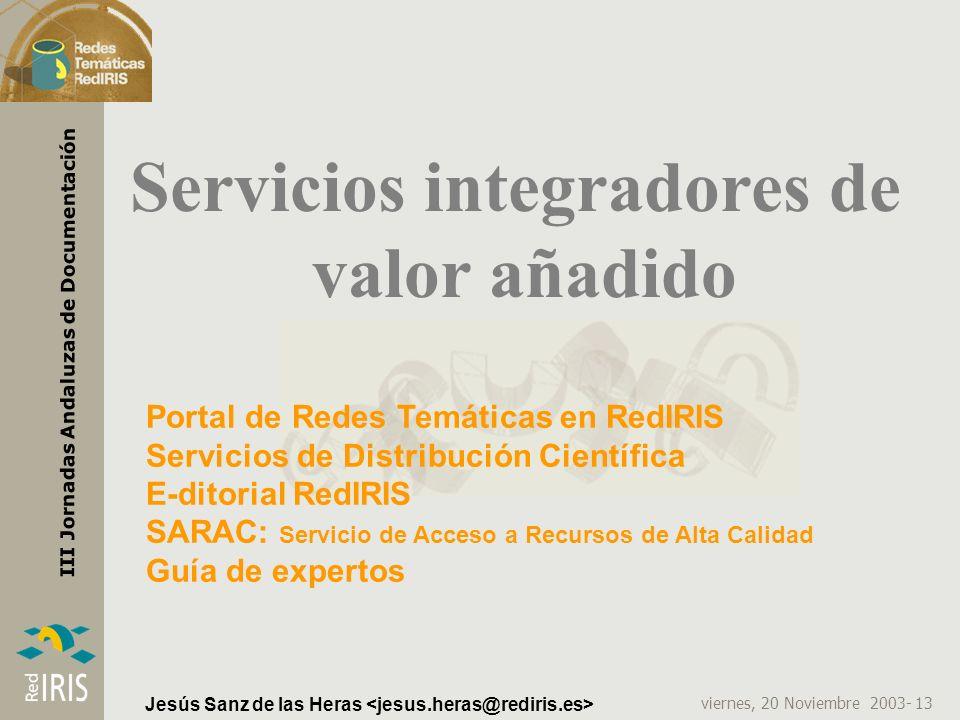 Servicios integradores de