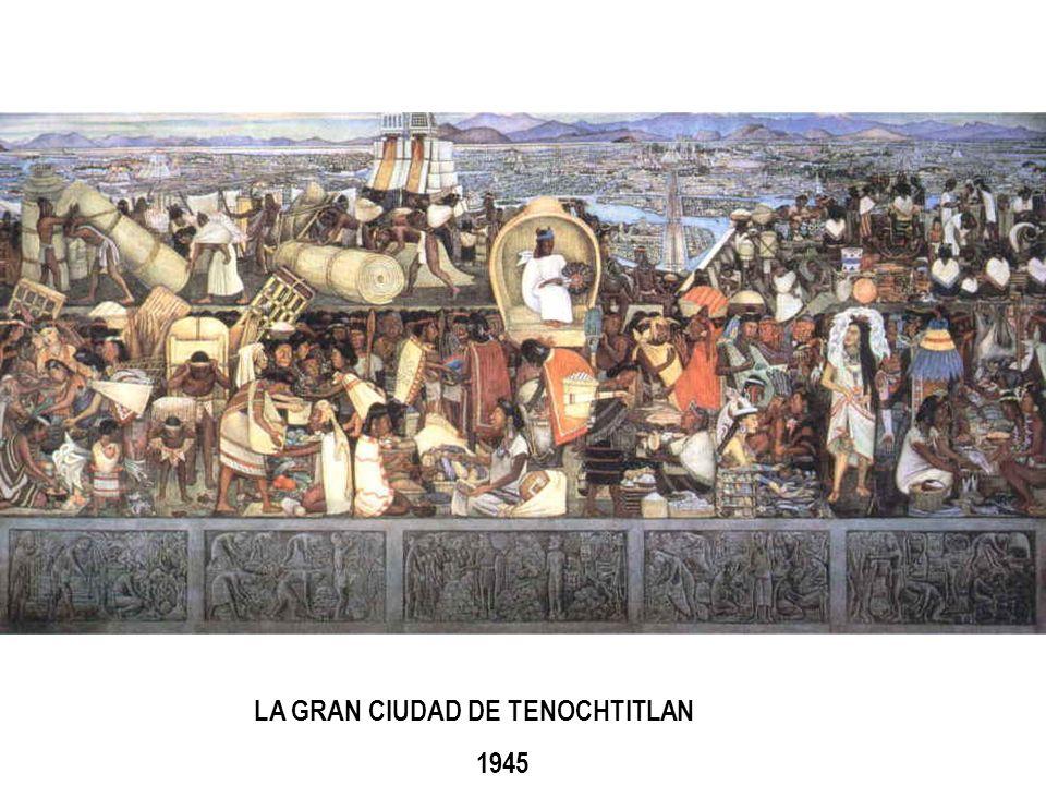 LA GRAN CIUDAD DE TENOCHTITLAN