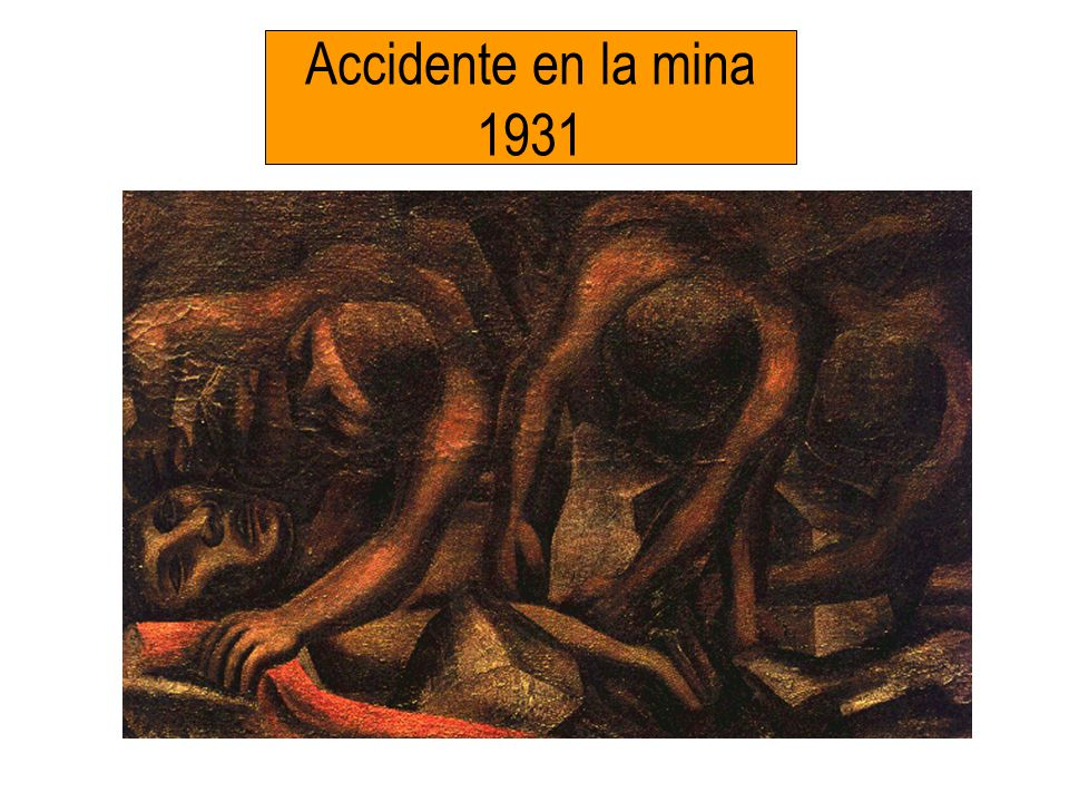 Accidente en la mina 1931