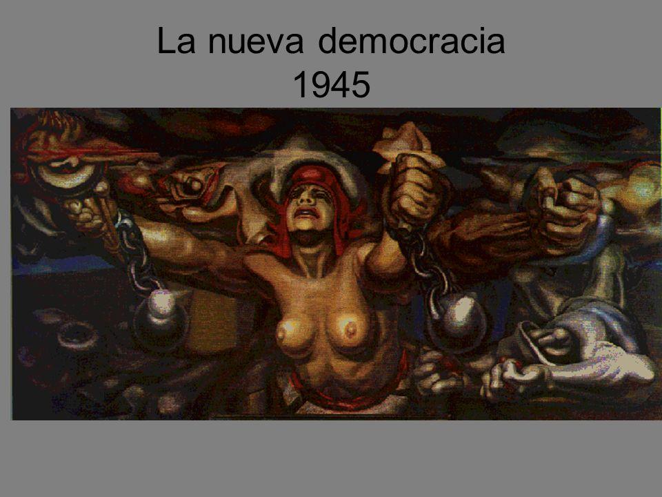 La nueva democracia 1945