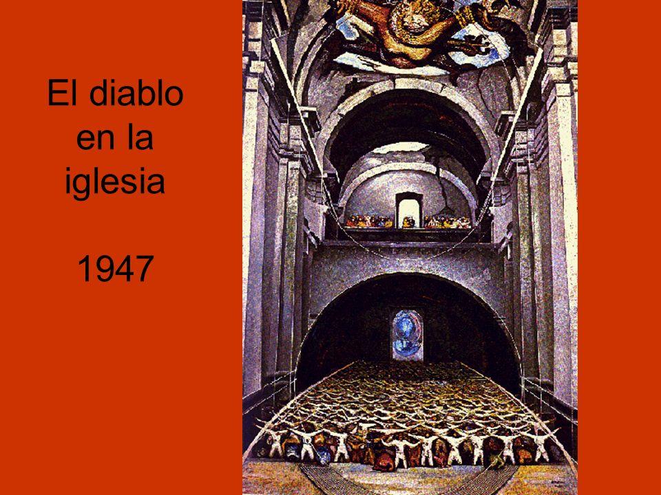 El diablo en la iglesia 1947