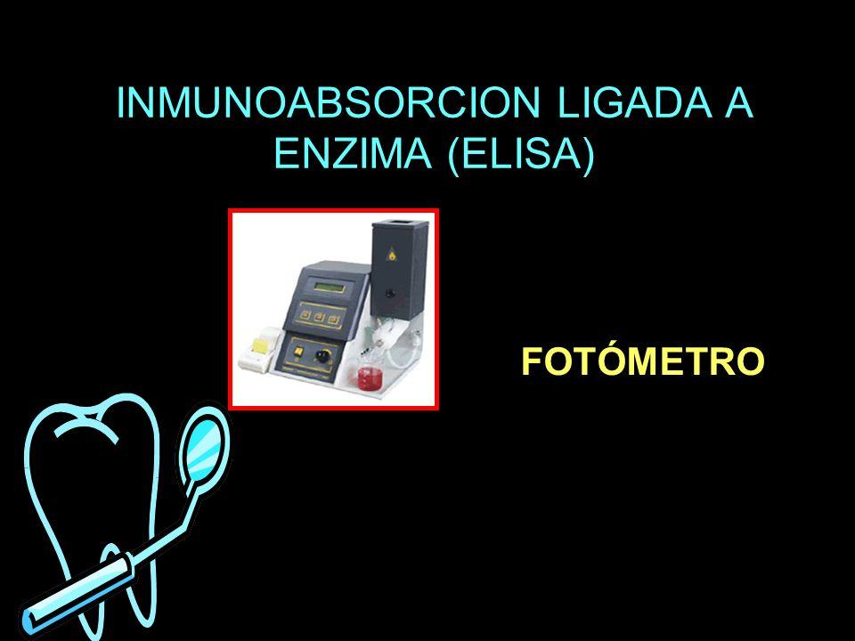 INMUNOABSORCION LIGADA A ENZIMA (ELISA)