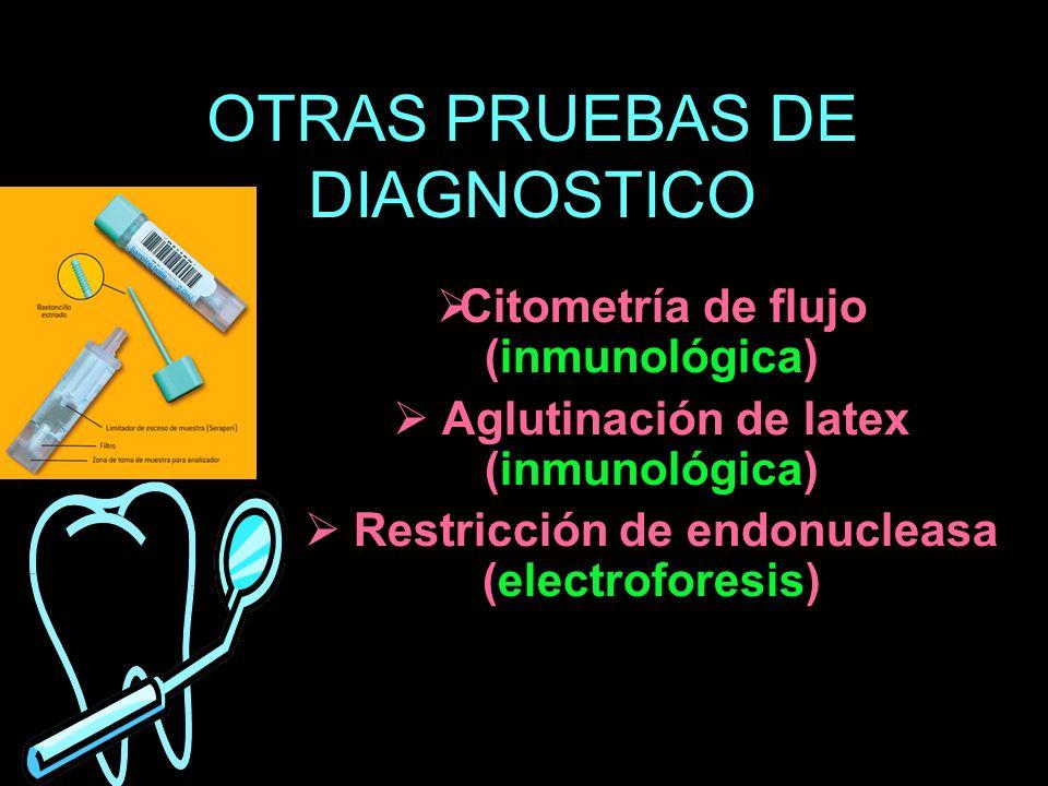 OTRAS PRUEBAS DE DIAGNOSTICO