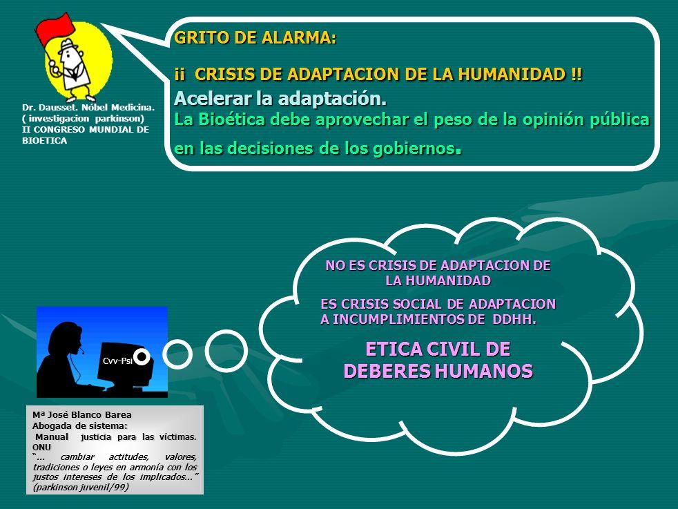 ETICA CIVIL DE DEBERES HUMANOS