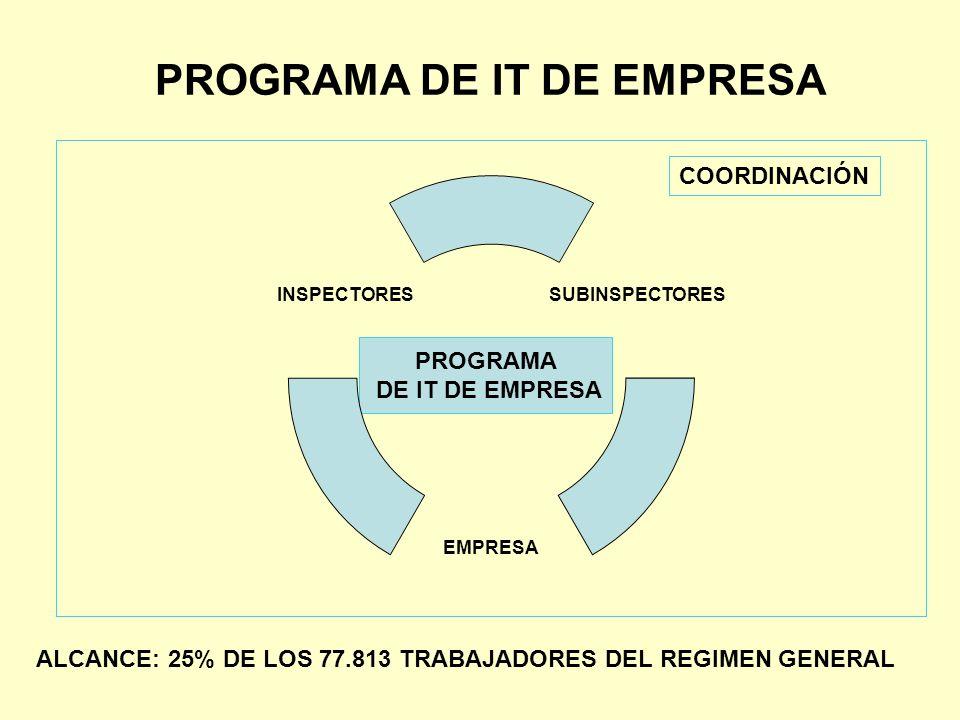 PROGRAMA DE IT DE EMPRESA