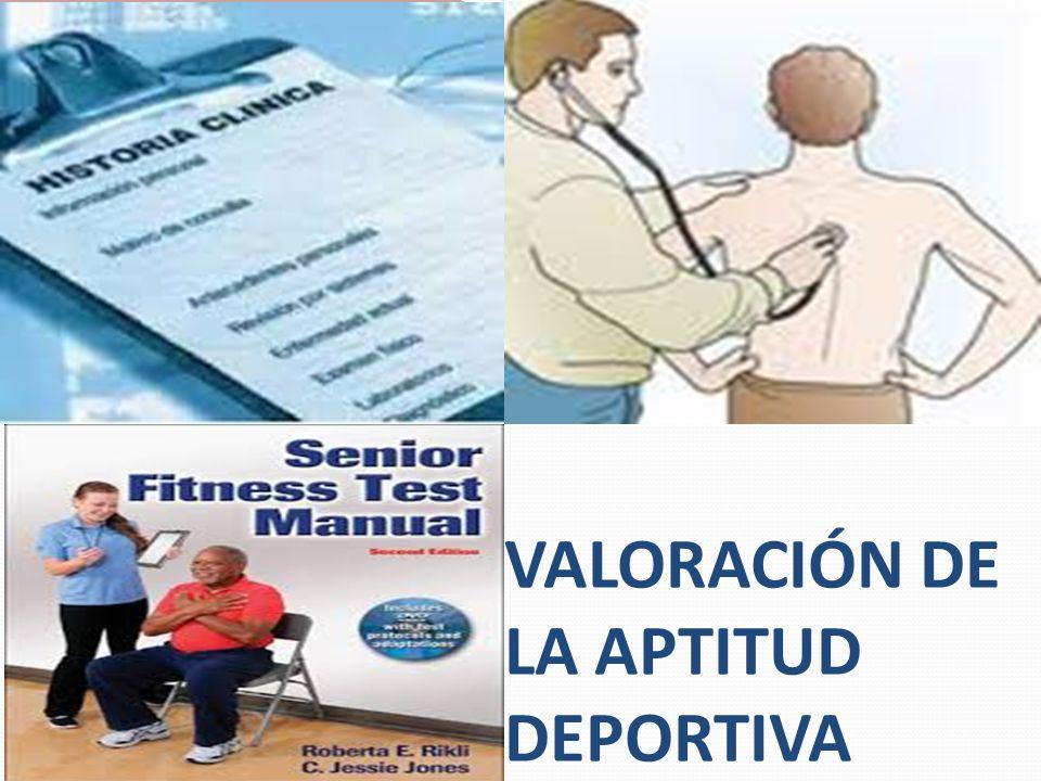 VALORACIÓN DE LA APTITUD DEPORTIVA