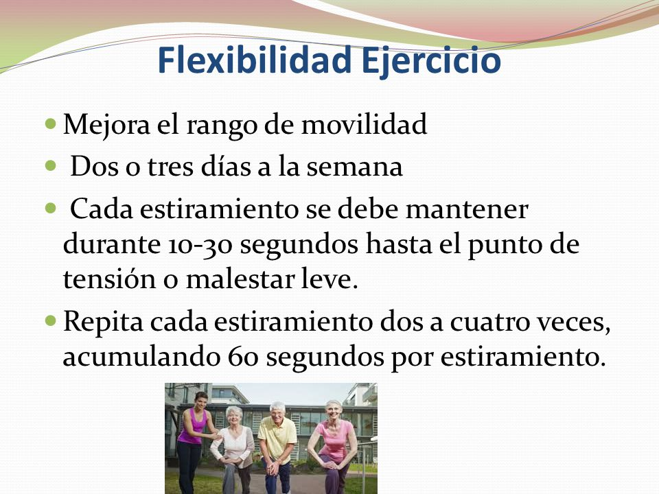 Flexibilidad Ejercicio