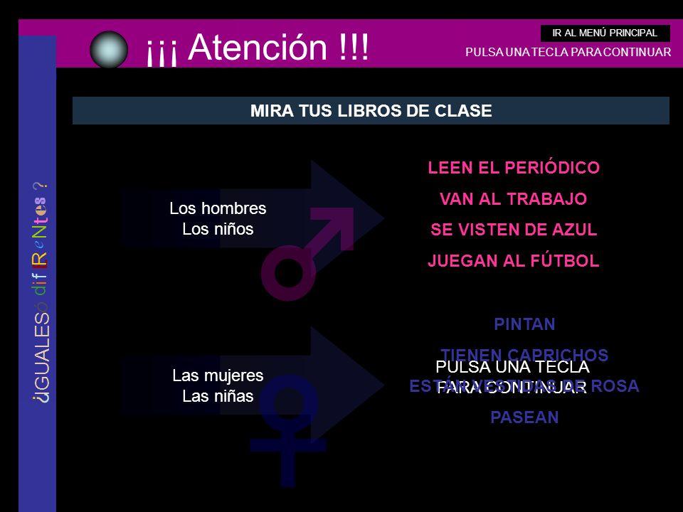 MIRA TUS LIBROS DE CLASE