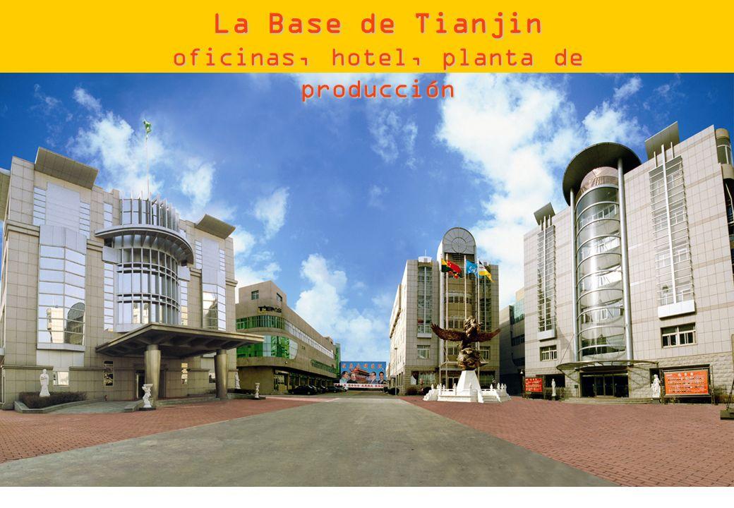 oficinas, hotel, planta de producción