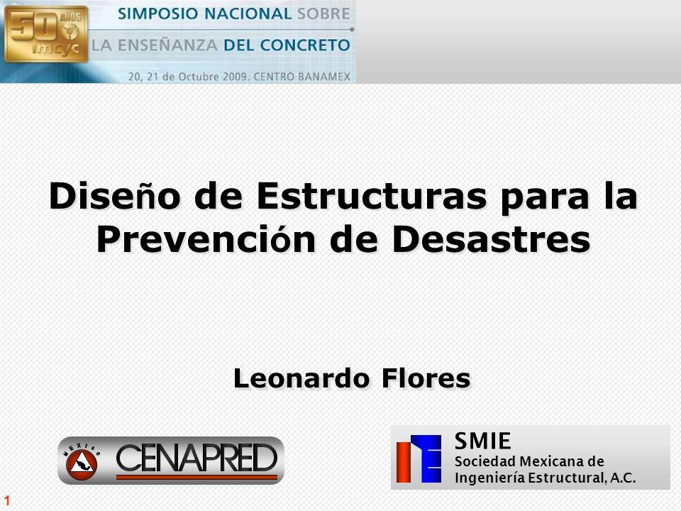 Diseño de Estructuras para la Prevención de Desastres