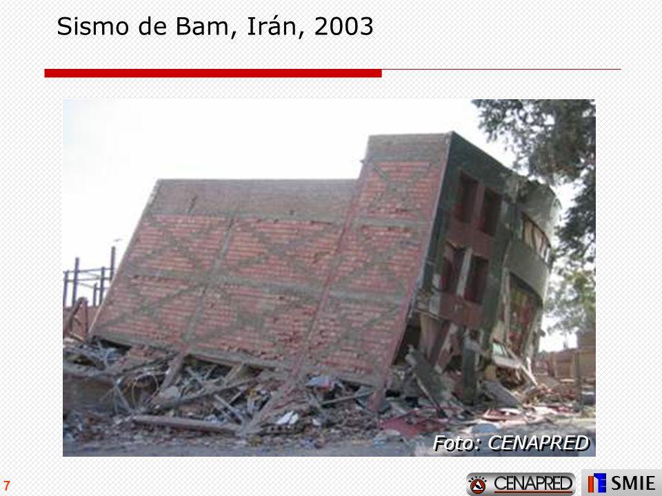 Sismo de Bam, Irán, 2003 Foto: CENAPRED