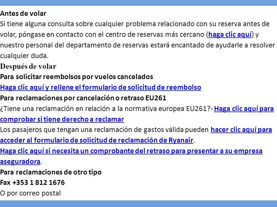 Ryanair ppt descargar for Correo postal mas cercano