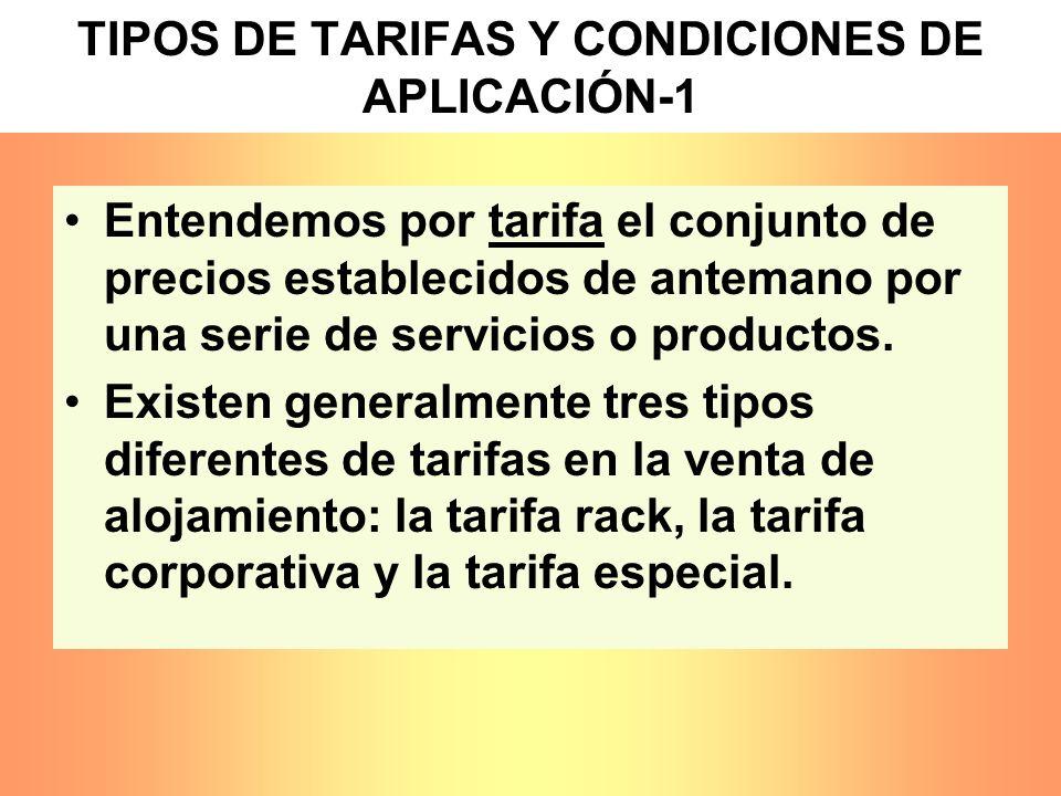 TIPOS DE TARIFAS Y CONDICIONES DE APLICACIÓN-1