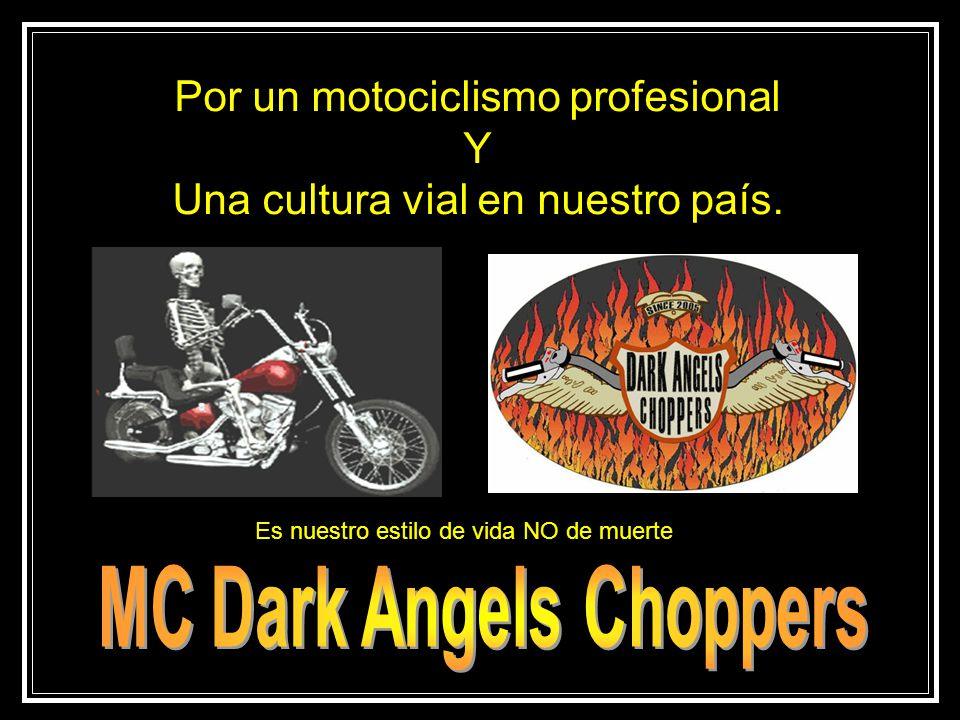 MC Dark Angels Choppers