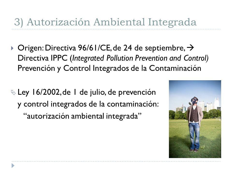 3) Autorización Ambiental Integrada