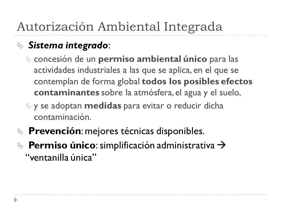 Autorización Ambiental Integrada