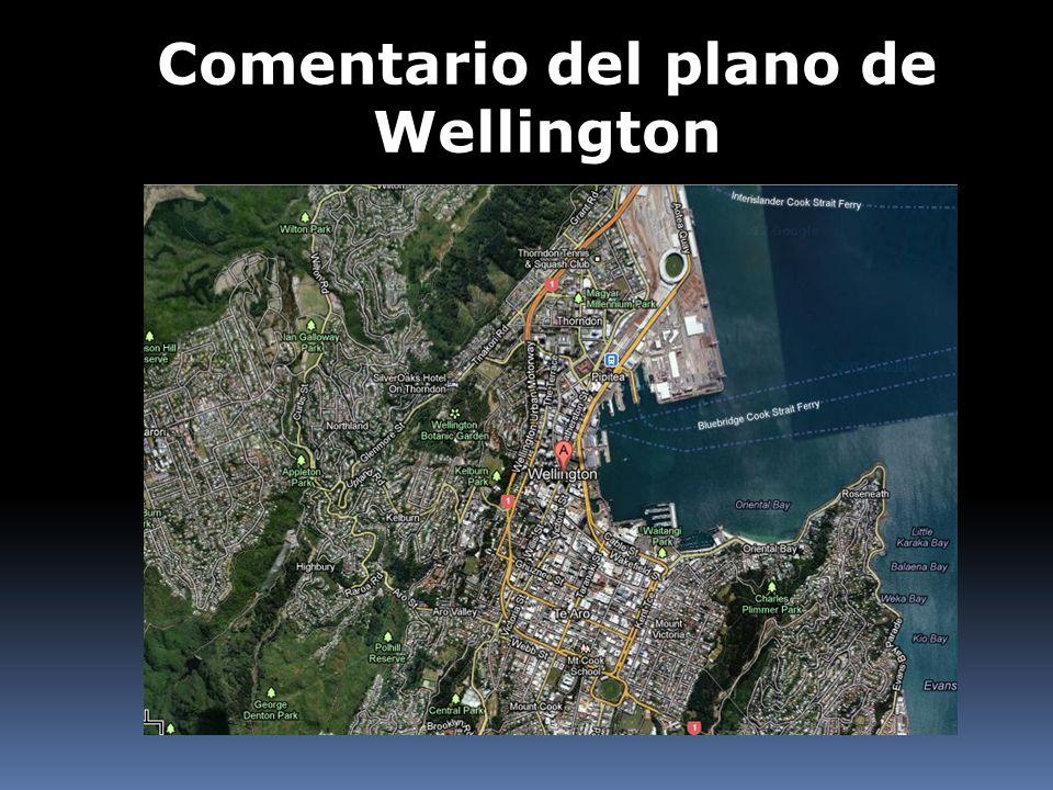 Comentario del plano de Wellington