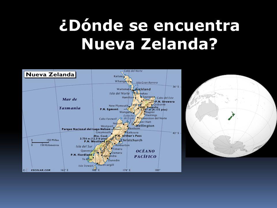 ¿Dónde se encuentra Nueva Zelanda