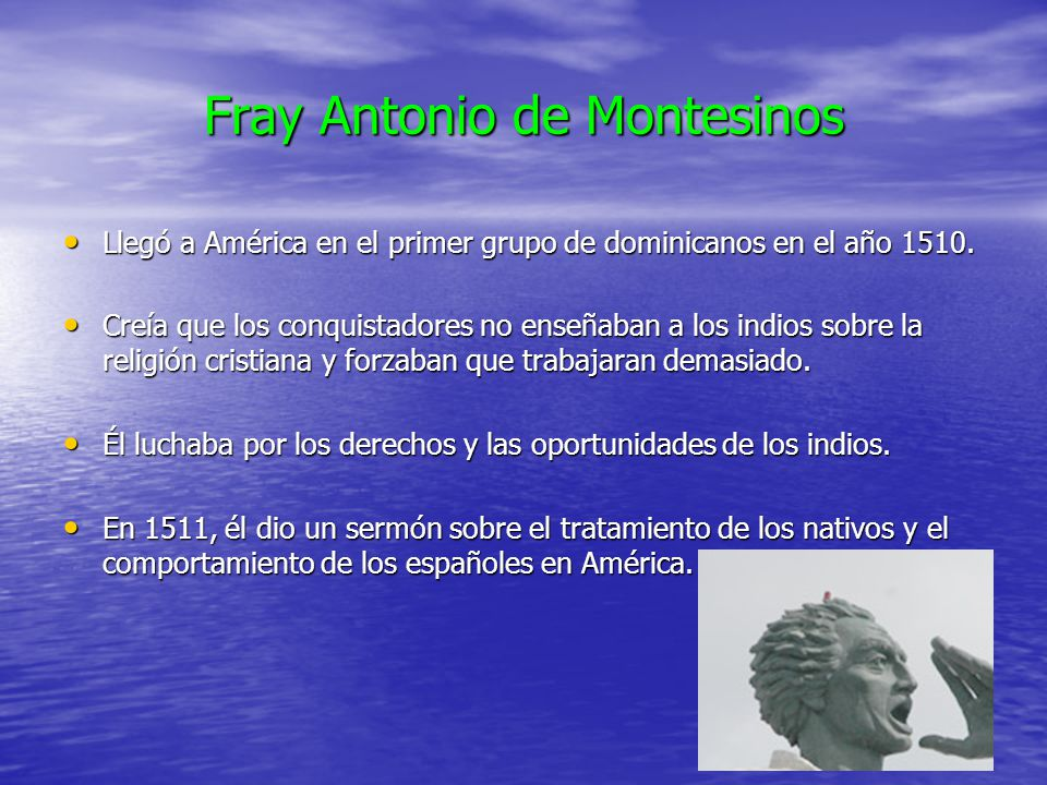 Fray Antonio de Montesinos